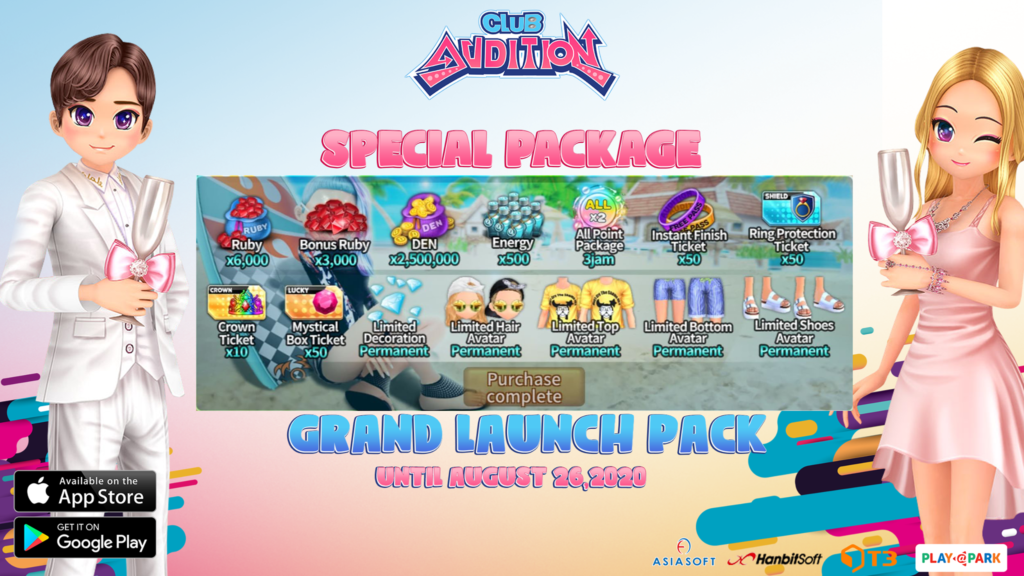 [PROMO] Grand Launch pack