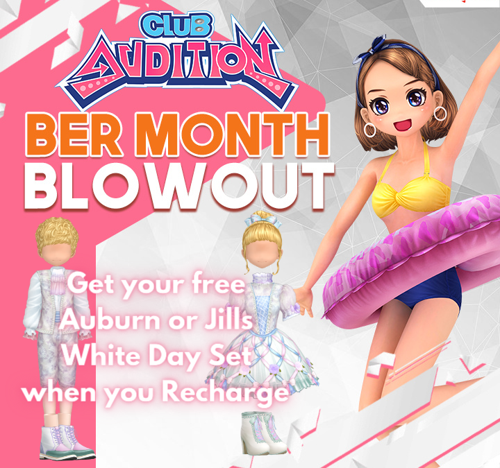Club Audition M BER MONTH BLOW OUT!