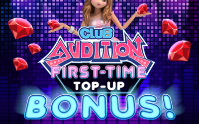 Club Audition M FIRST TIME TOP UP BONUS!
