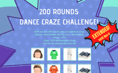 200 ROUNDS DANCE CRAZE CHALLENGE!