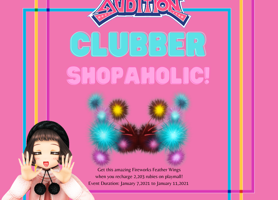 Club Audition M: January Clubber Shopaholic