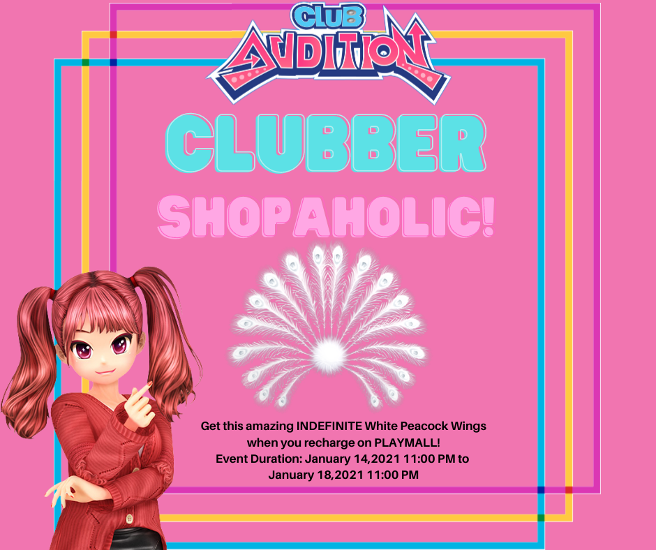 Club Audition M: January Clubber