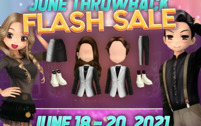 Club Audition M: June Throwback Flash Sale