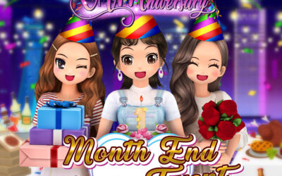 Club Audition M: CAMniversary Month End Login Event