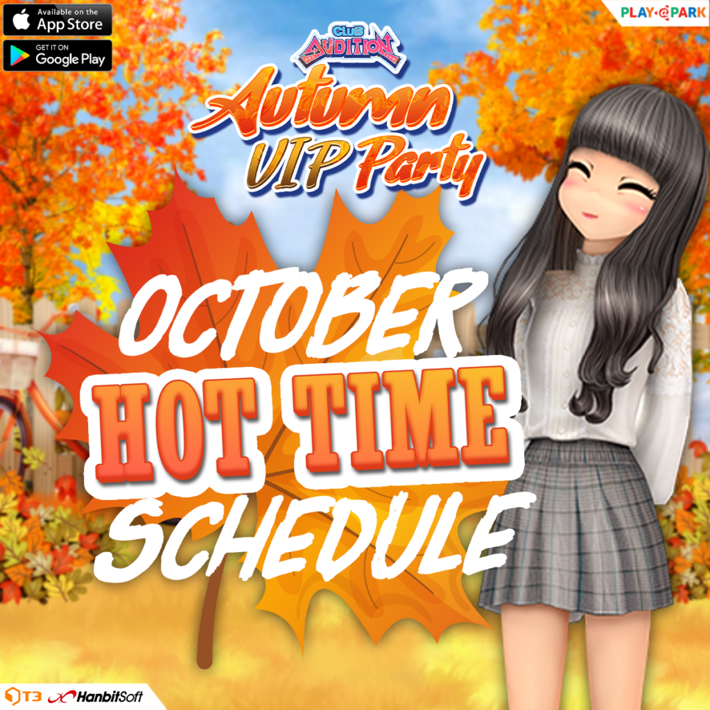 Club Audition M: October Hot Time Boost